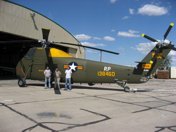 Helicoptere-Sikorsky-H34